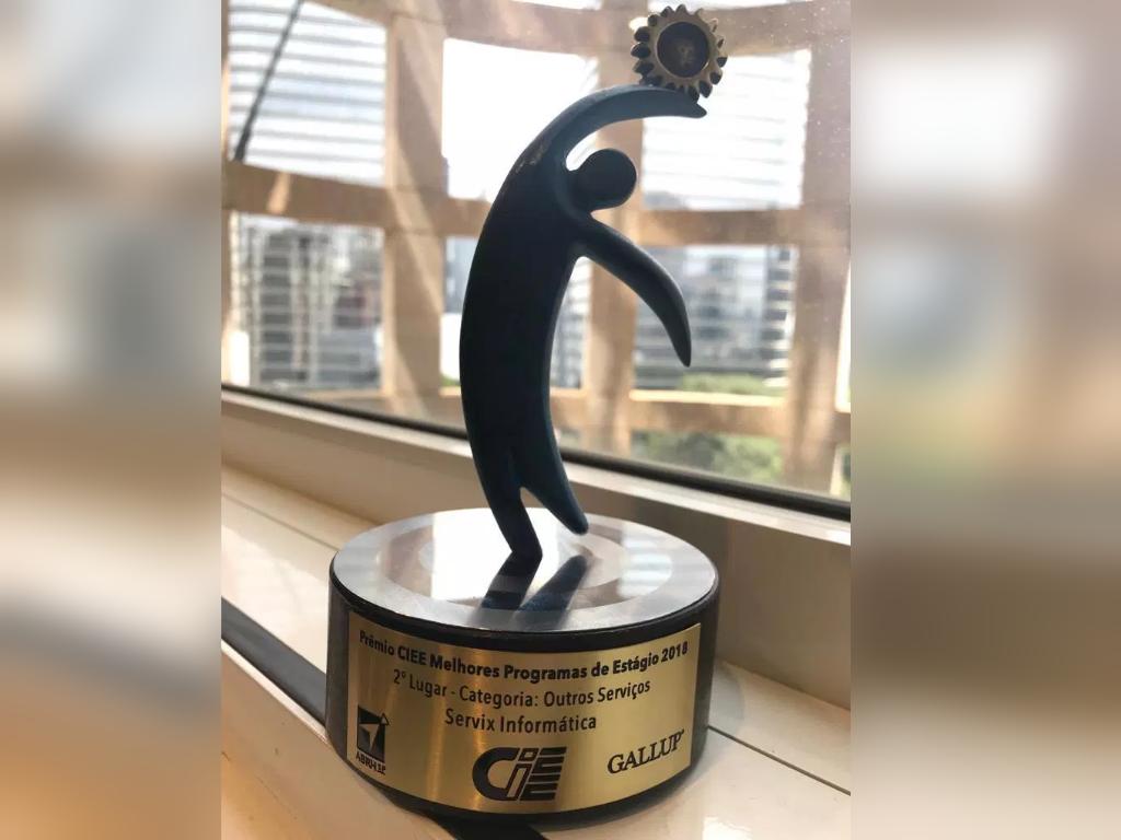 Servix recebe prêmio do CIEE