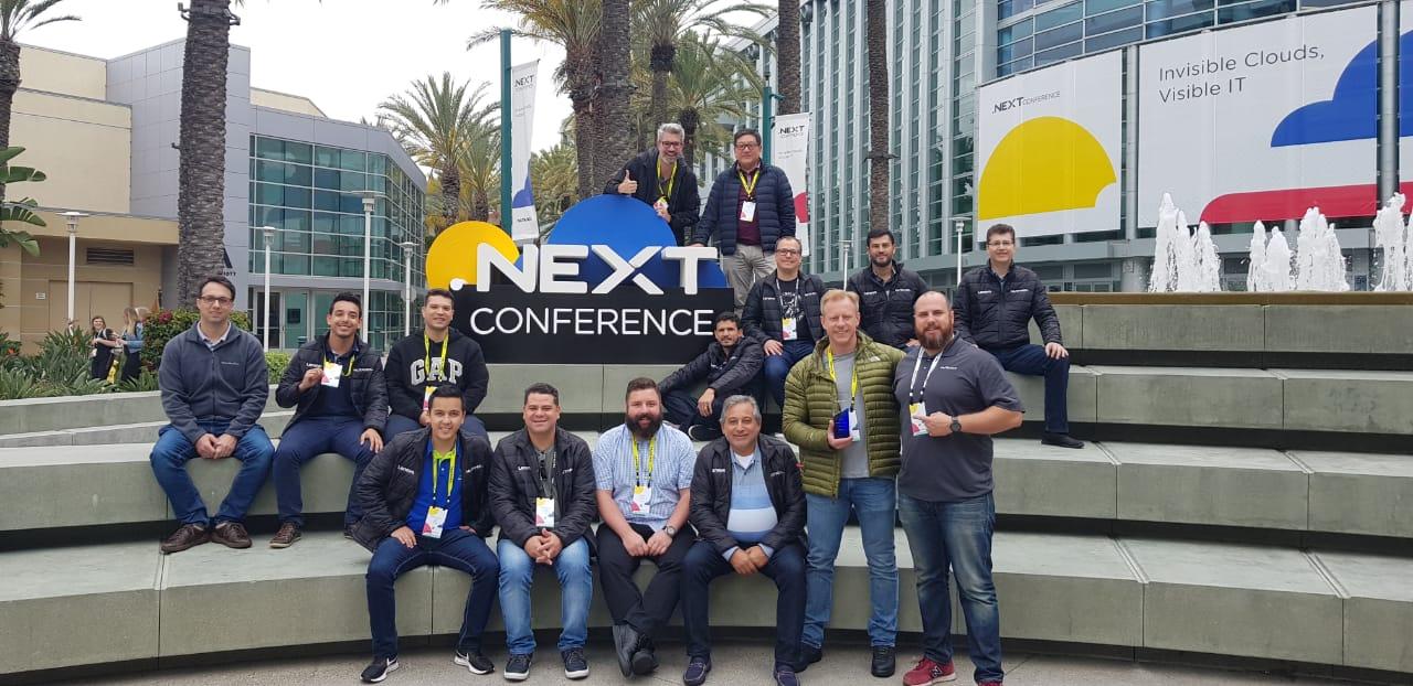 Servix participa do Nutanix .Next 2019, em Anaheim, na Califórnia