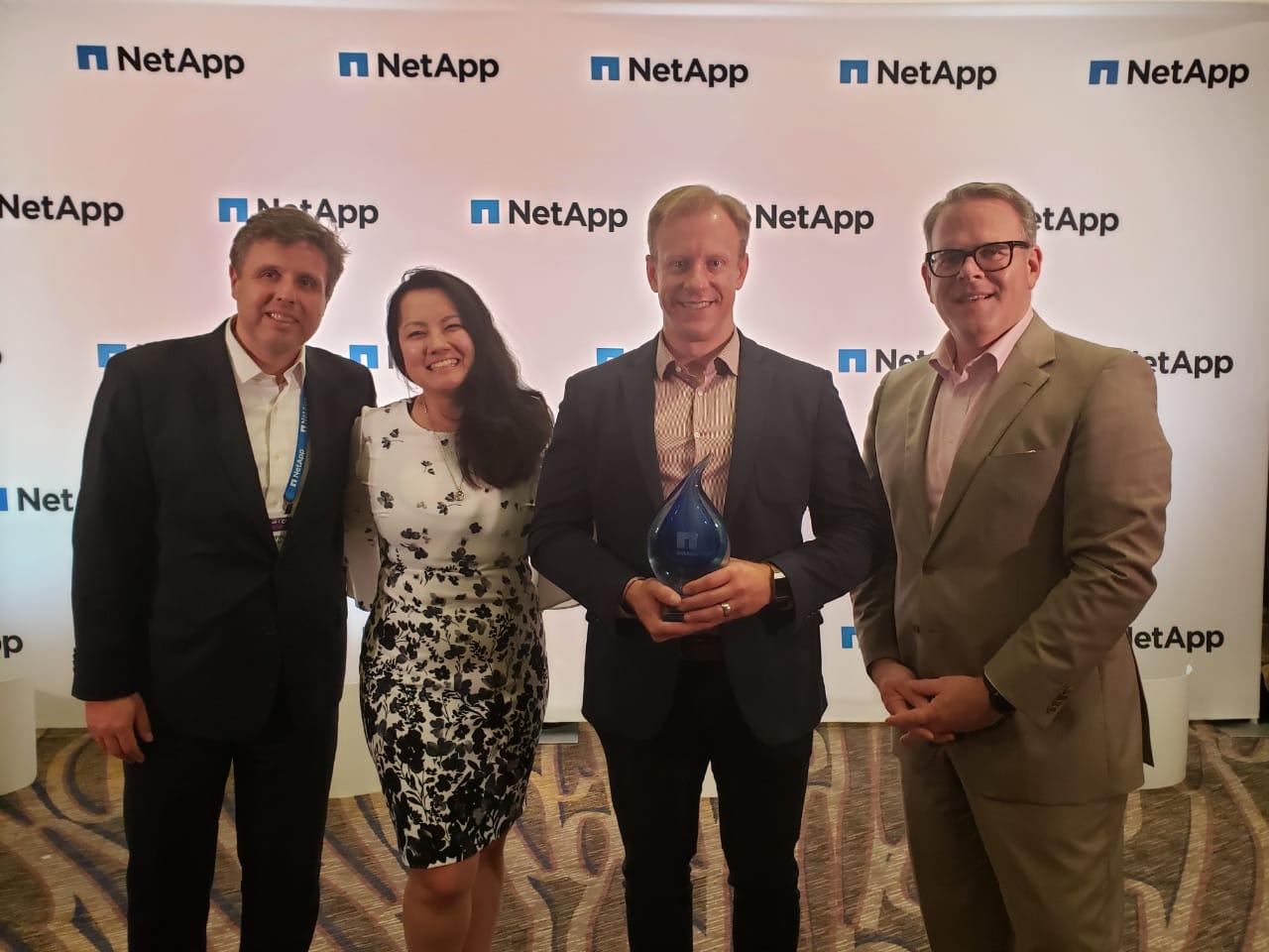 Servix é eleita parceira do ano da NetApp na América Latina