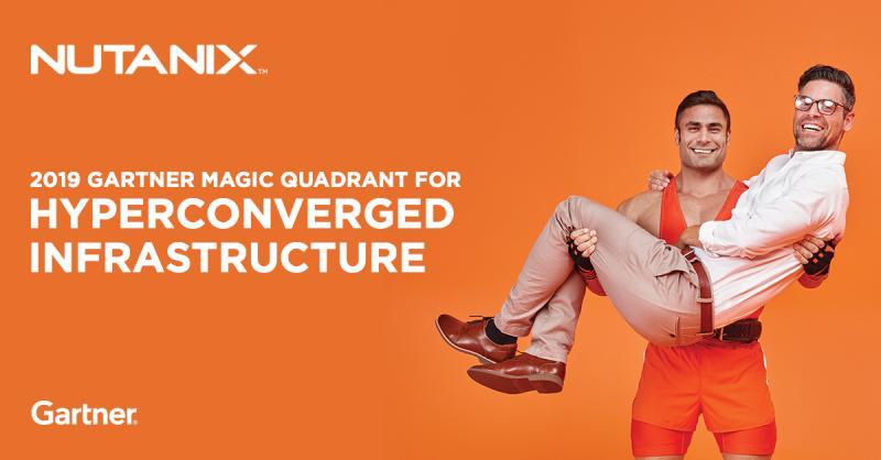 Nutanix é nomeada líder no Quadrante Mágico do Gartner de 2019 para infraestrutura hiperconvergente pela terceira vez consecutiva