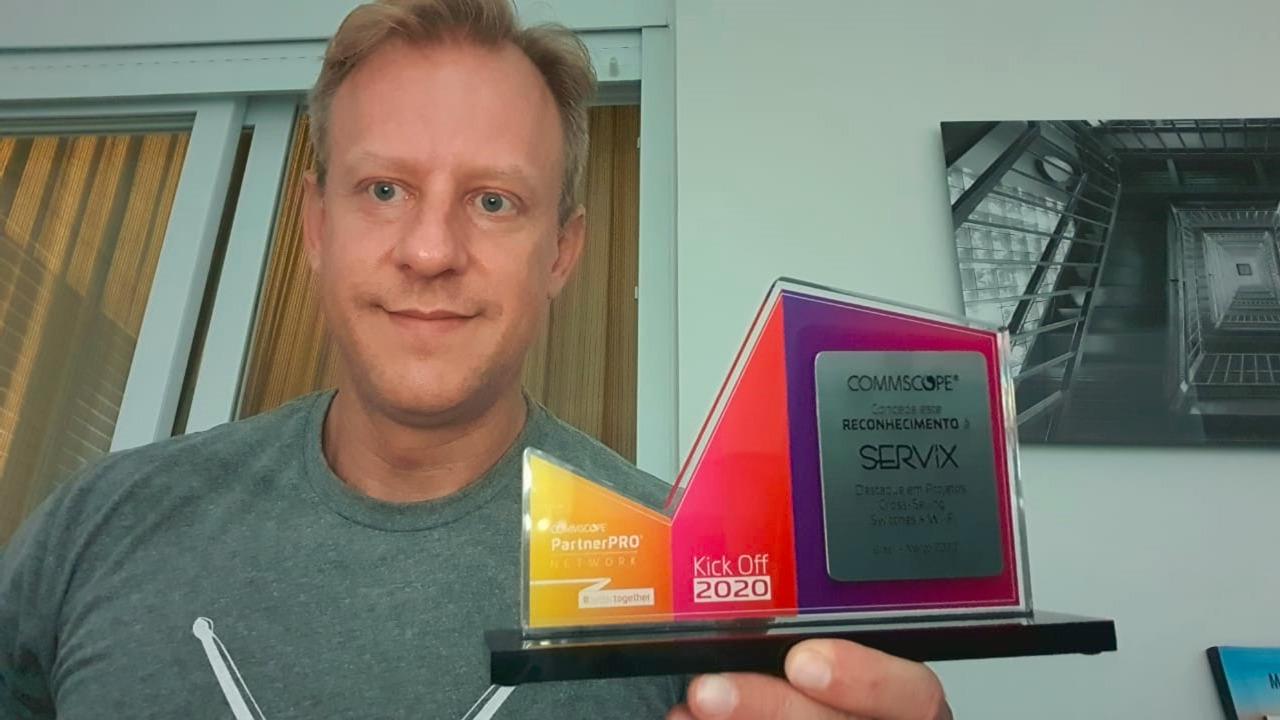 Servix é premiada novamente pela Ruckus - Commscope